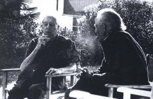 Carrà e Montale, agosto 1979