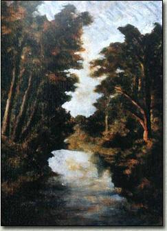 Il Fiumetto dal ponte di via Leonardo da Vinci