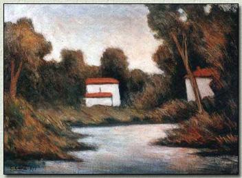 Il Fiumetto dal ponte di Via Dalmazia