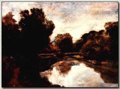 Il Fiumetto dal ponte di via Leonardo da Vinci verso via Nizza